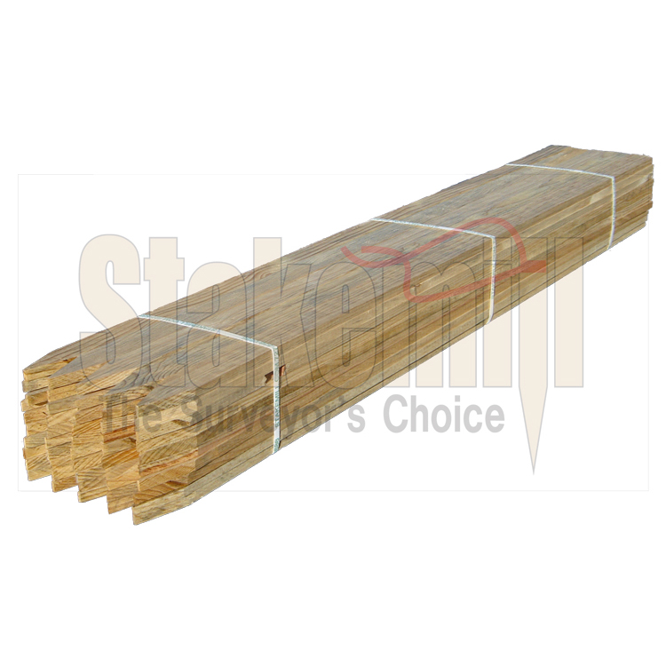 48 inch Hardwood Survey Lath